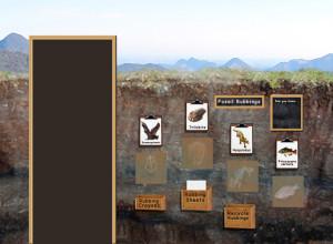 Fossil Rubbings Concept Sketch
