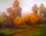 "20"" x 16"" Oil on Canvas Panel"