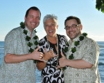 With our officiant June